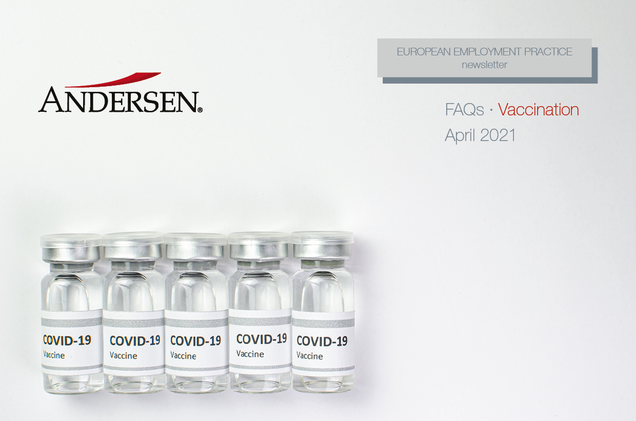 EU Employment Newsletter: FAQs Vaccines
